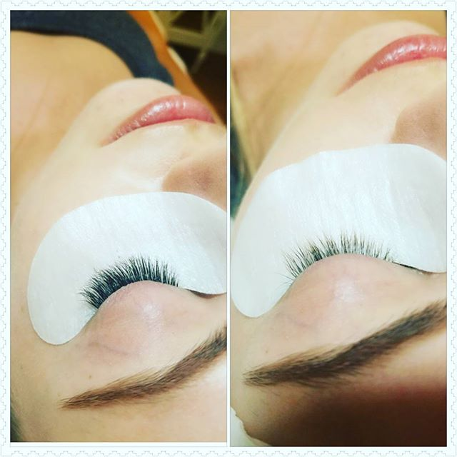 Lashes...they don't have to be long and crazy but they do have to be thick and dark. #naturalbeauty #lashartist #lashextensions #lalondonlashes