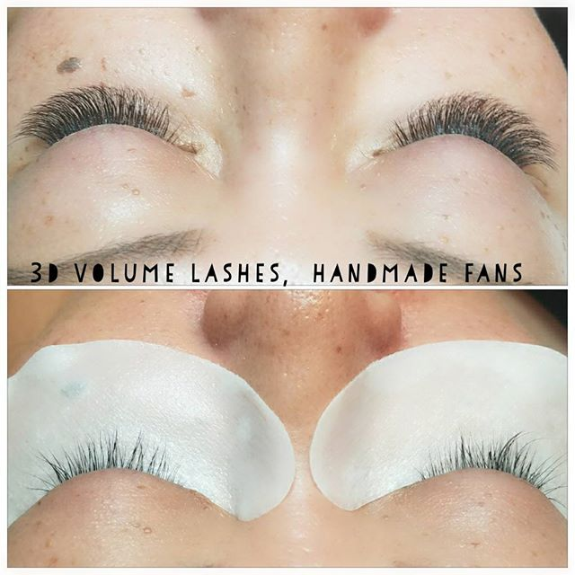 Trying out handmade 3d volume lashes. We have some pre fanned ones we LOVE but we're enjoying the softeness & unique tailoring with handmade fans.. #3dlashes #ilovelashes #lalondonlashes #naturallashes #asianlashes