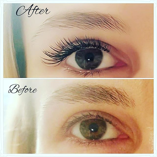 Classic lashes before and after. Love the definition ! #lalondonlashes #classiclashes #beforeandafter #westsidelashes #naturalbeauty