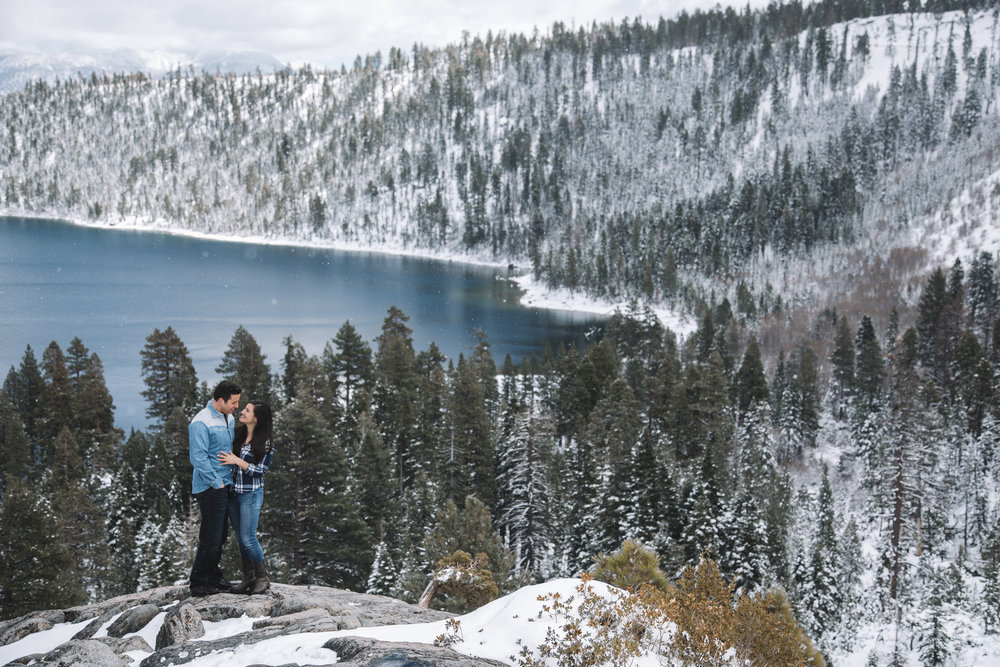 South Lake Tahoe Engagement Photographer