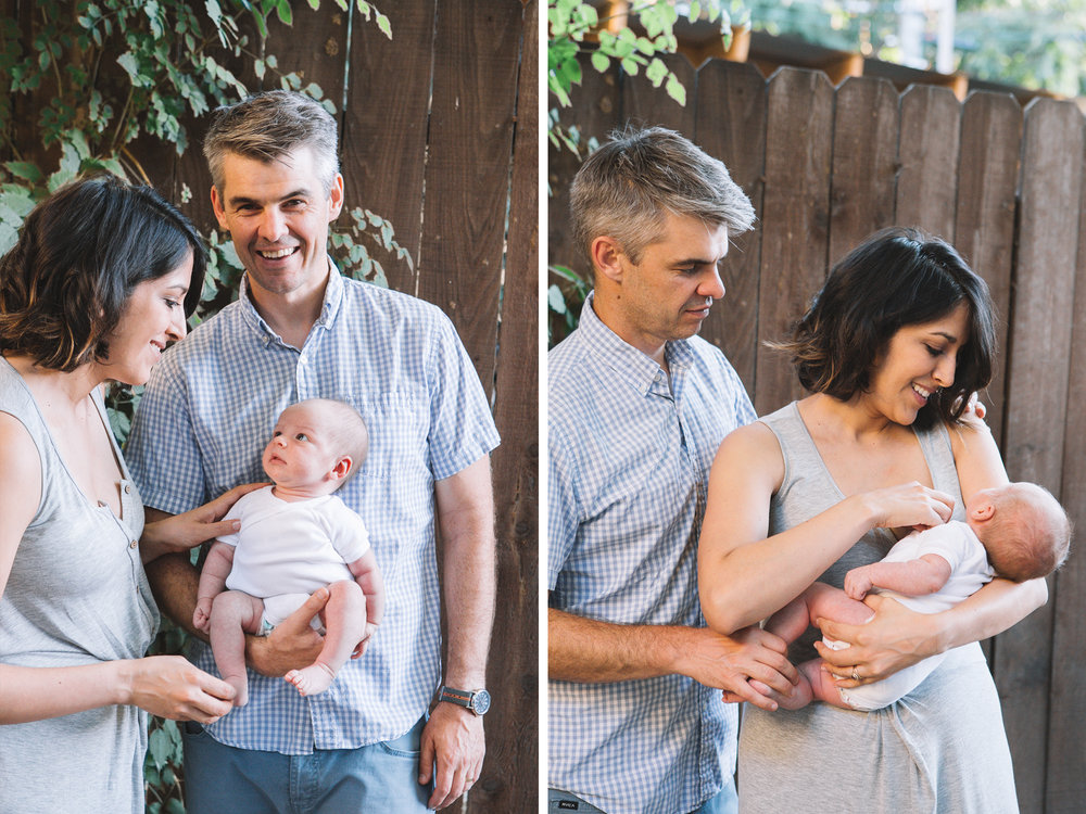 Sacramento Lifestyle Newborn Photography