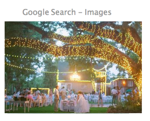 GORGEOUS CHANDILIERS IN LIGHTED TREES!