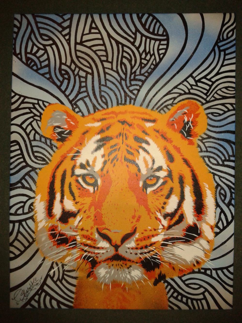 Tiger Canvas (2012)
