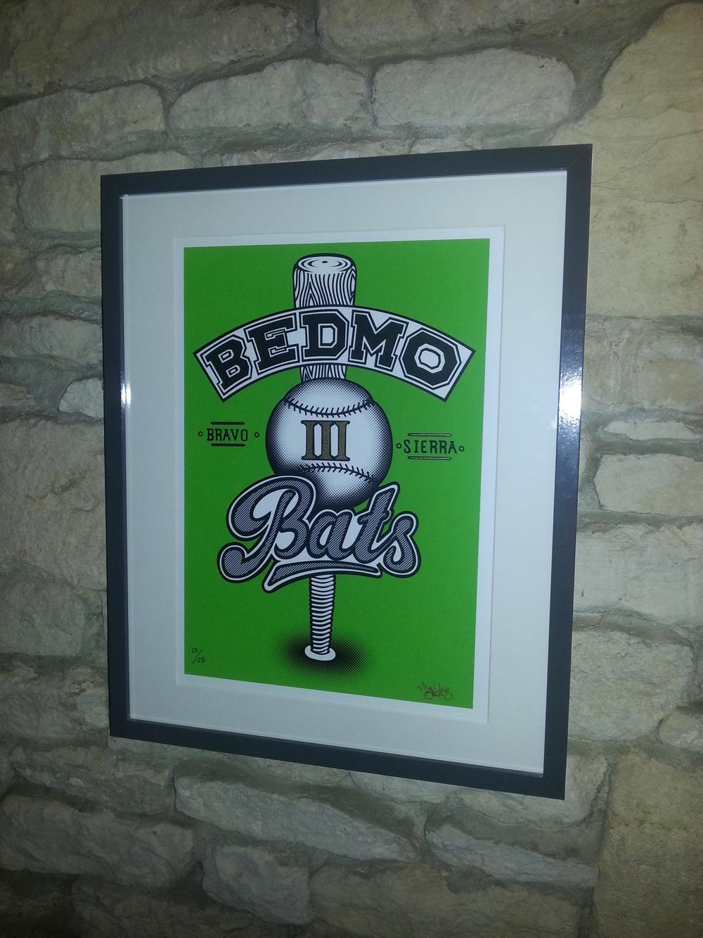 Bedmo Bats Prints (2015)