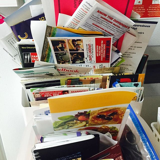 When you can't find what you're looking for. #paper #clutter #frustrated #fridge
