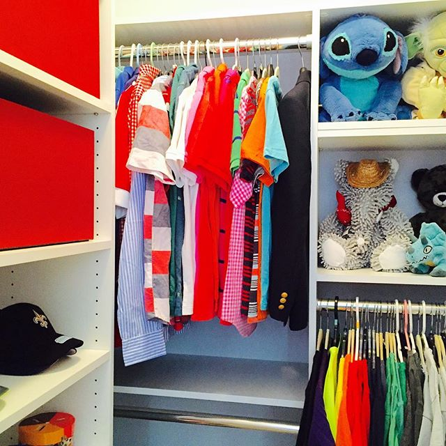 Back to school! Another happy kid. #after #cleartheclutter #readyforschool #kidclothes