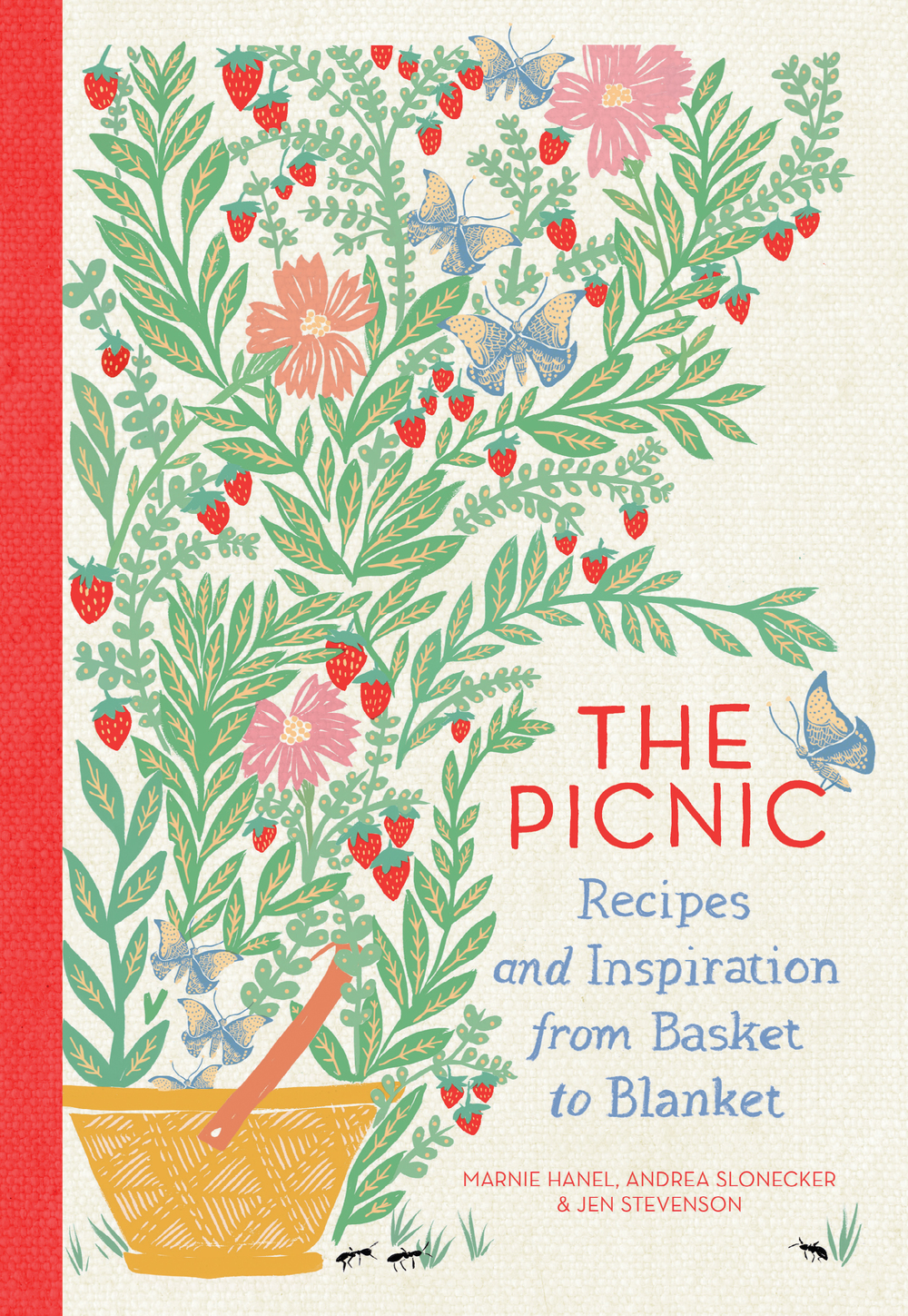 The Picnic by Marnie Hanel, Andrea Slonecker, and Jen Stevenson (Artisan Books). Copyright (c) 2015. Illustrations by Emily Isabella.