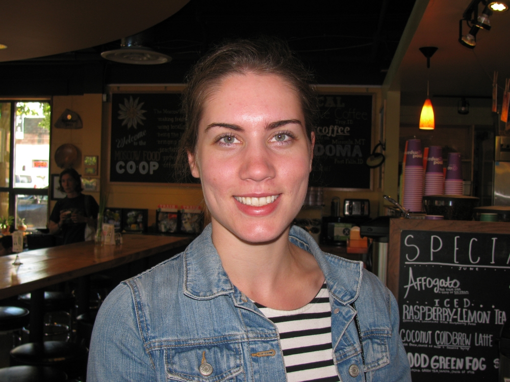 """I really like it because I get exactly how much I want."" Heidi Modin, Pullman, WSU Graduate"
