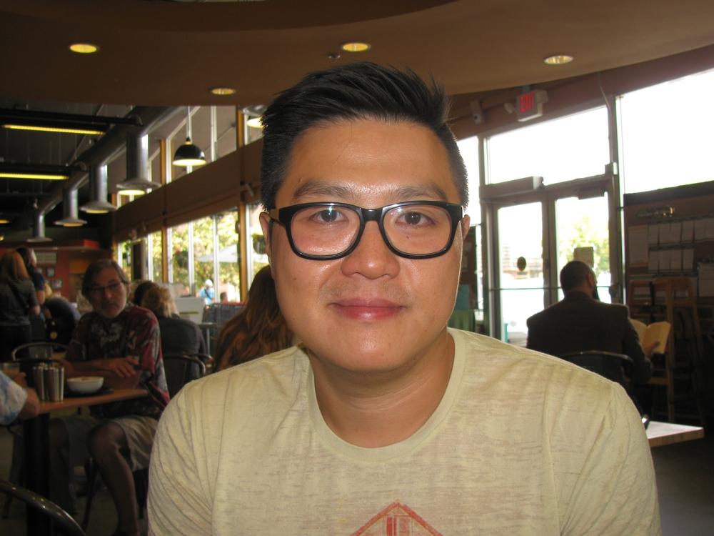 """""""Chicken Noodle Soup."""" Joseph Tse, Pullman, WSU grad student"""
