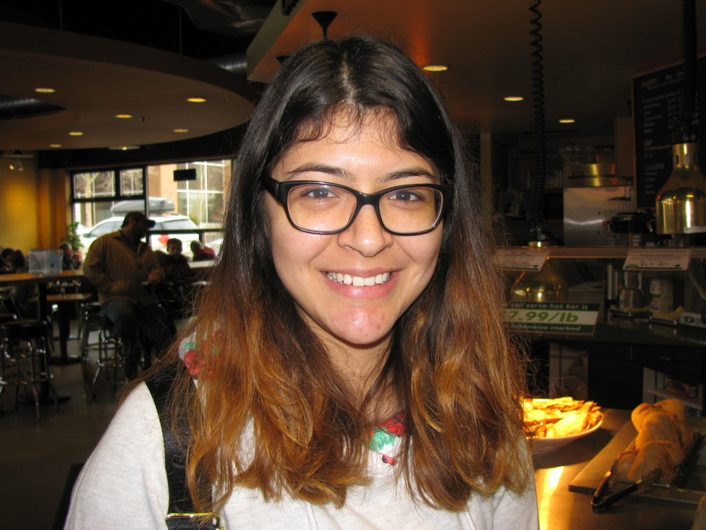 """I love the gluten-free bread."" Sol Alvarez, Moscow, University of Idaho Student"