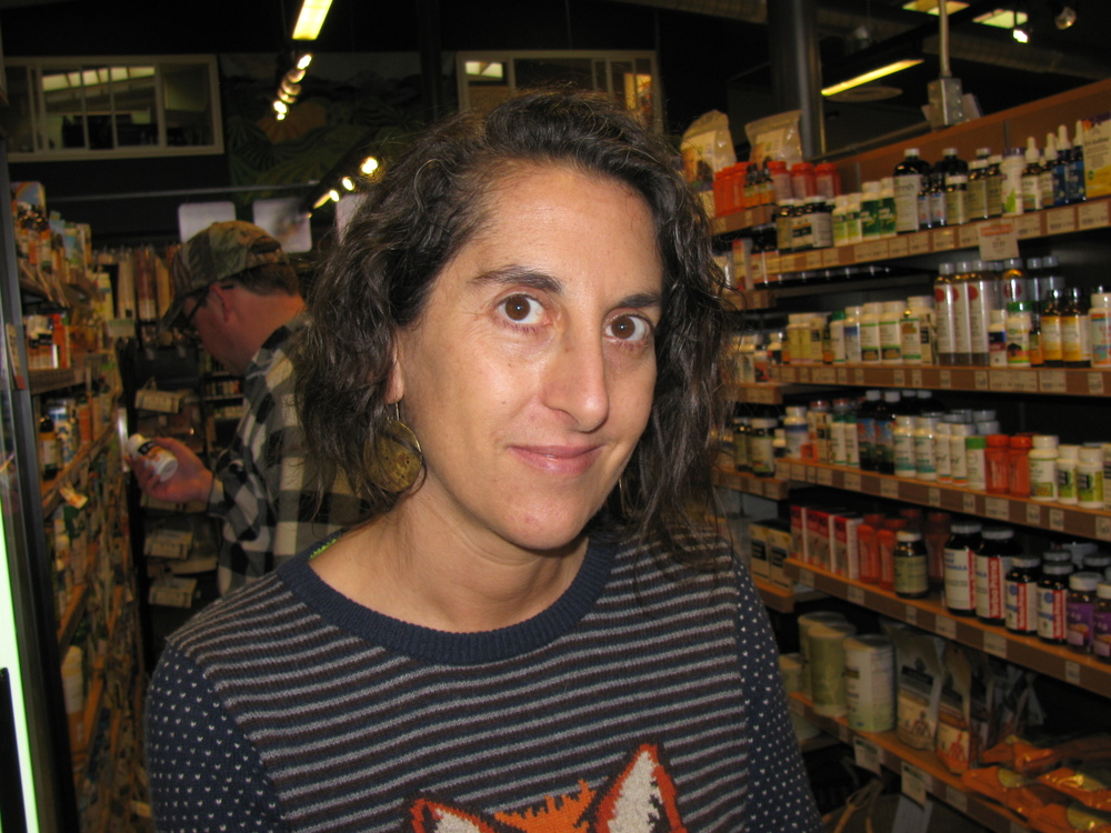 """I love rhubarb and fresh asparagus."" Jesica Dehart, Moscow, Assistant Manager for BookPeople"