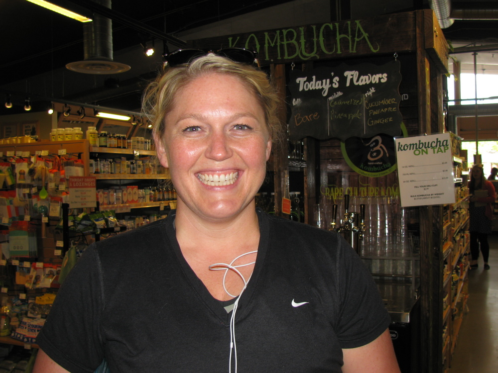 """Kombucha. The tap is great, but I also love GT's Tumeric Carrot Ginger Kombucha.""  Kate Shumaker, Moscow, Speech Therapist"