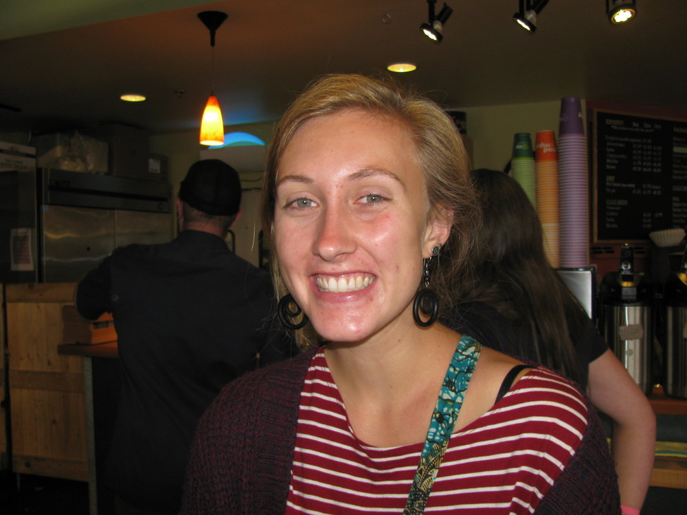 """...had grilled cheese sandwiches again.  I used to eat them all the time."": Emily Alexander, Moscow, UI Student"