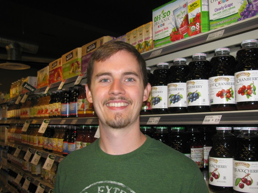 """... if the Co-op had more sales and more affordable prices. We would shop here more often."": Eric Hjort, Pullman, WSU Student"