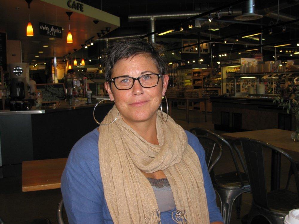 """Apple pie. I like to make it.""Sheila Hallagan, Palouse, Spokane Falls Student"