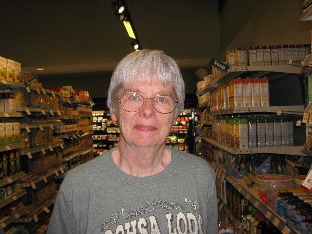 """Thanksgiving is coming up so I will say pumpkin pie."" Karen Preston, Troy, Retiree"