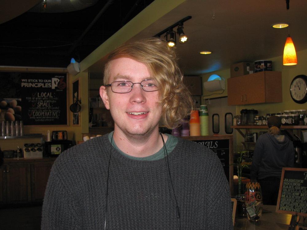 """Cranberry sauce with orange zest and orange liqueur."" Matthew McLean, Moscow, UI Student"