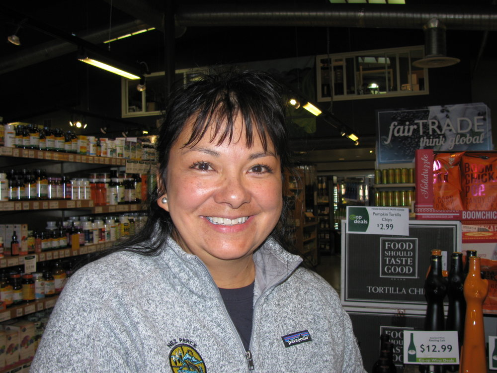 """""""Potatoes and gravy."""" Marcie Carter, Lewiston, Nez Perce Watershed Fisheries"""