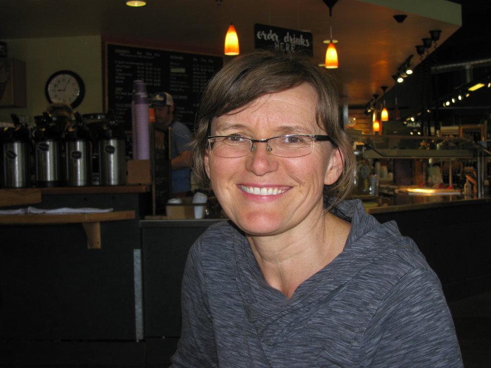 """Blueberry."" Beata Vixie, Pullman, WSU Food Science Researcher"