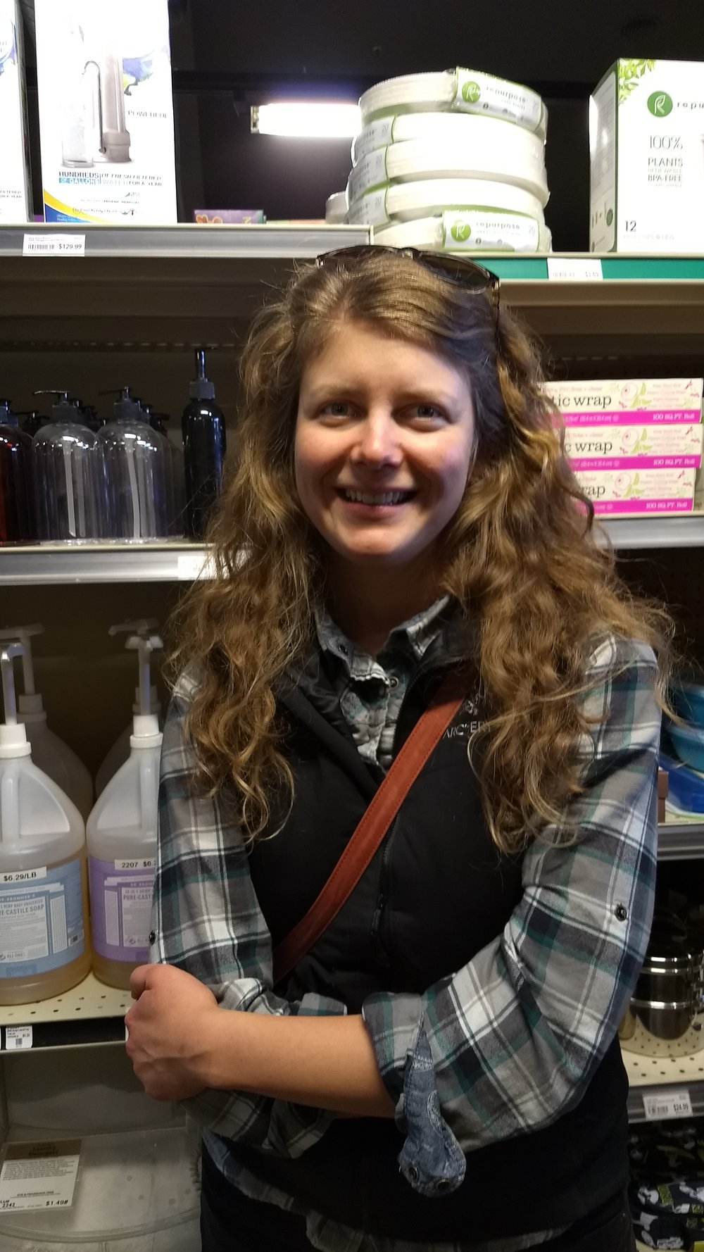 """I like a spicy chai tea in the morning."" Christine Plourde, St. Maries, Recreation Manager"