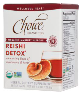 - Choice Mushroom Teas for Organic Immunity SupportChoice, the first exclusively organic tea company in the United States, has been crafting delicious organic, Fair Trade Certified, and Non-GMO Project Verified teas since the 1980s. Based in Seattle, they are one of the few tea companies that packages teas in the U.S., offering more than 80 varieties of teas, herbs, and blends that honor people and the planet with every cup. Choice uses environmentally-friendly packaging; energy-conserving practices in their operation; and are committed to recycling. Their newest Wellness Teas combine medicinal mushrooms with synergistic herbs and teas to promote organic immunity support and overall wellbeing. Indulge in these four blends: shiitake turmeric, shiitake mate, reishi detox, and reishi matcha.