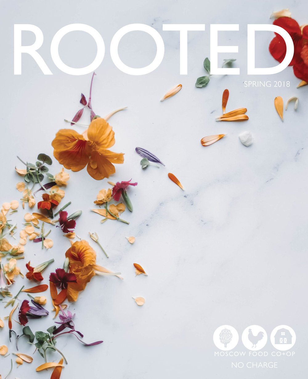 Spring 2018 - In this issue, you can read about The Genesee Valley Daoist Hermitage, learn how the Moscow Food Co-op has positioned itself as a key player in the fight against food waste, discover edible flower recipes, and more!