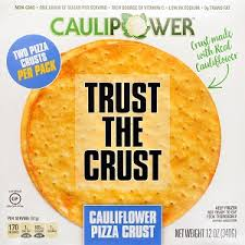 "- Caulipower Pizza CrustCaulipower believes that everyone ""deserves access to tasty, affordable, and nutritious alternatives to highly-processed foods."" As part of their mission, Caulipower supports the fight against childhood obesity by contributing to the creation of vegetable gardens at underserved schools throughout the country. Their pizza crust's first ingredient is cauliflower–yep, you read that right–and it is naturally gluten-free so everyone can enjoy it. It is an excellent source of vitamin C with no trans-fats and half the sugar; more protein, fiber, and vitamins than most of the leading gluten-free pizzas; and it is lower in calories, fat, and sodium. Caulipower's pizza crust is a ""blank canvas awaiting your culinary artistry"" and can be found with the frozen pizzas."