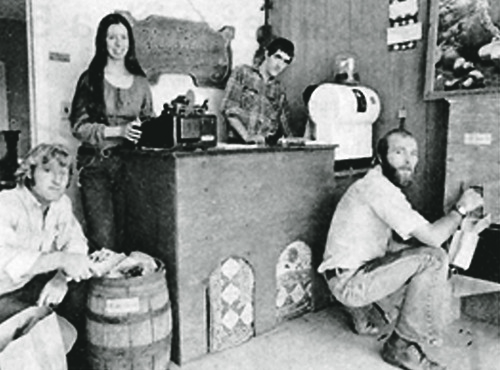 Proprietors of the Good Food Store (from left): Jim Eagen, Katie Mosel, Rod Davis, and Dave Mosel. Phil Schofield photo.