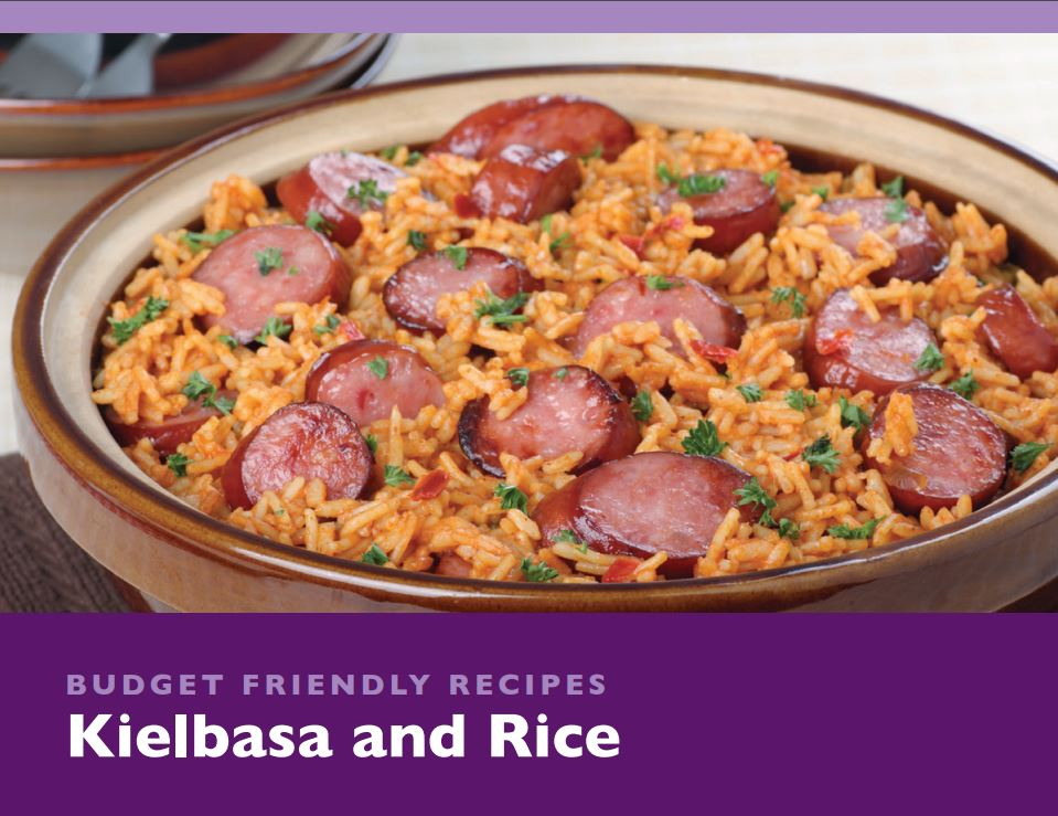 Kielbasa and Rice.JPG