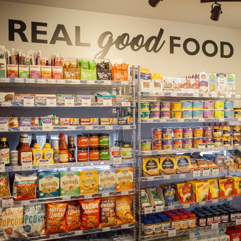 Quick health and wellness options, affordable snacks - Stop by the Co-op on campus for your favorite snacks, lunch options, and small grocery items like chips and salsa or Halo Top ice cream! We also have a small selection of personal care items like tooth paste, condoms, body soap, tampons, and more.