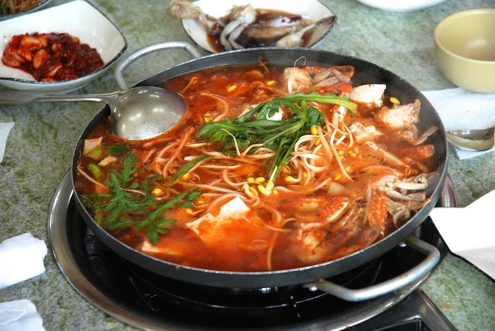 breakfast in Korea