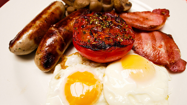 Full English Breakfast by Harris Ueng.  Used with permission.