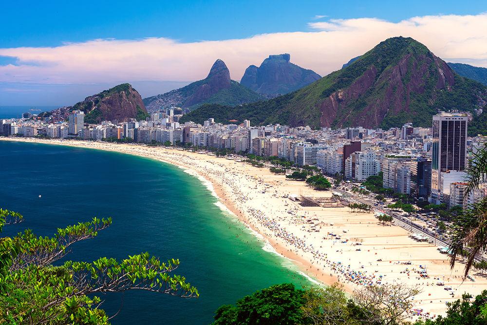 Brazilian Coast Line