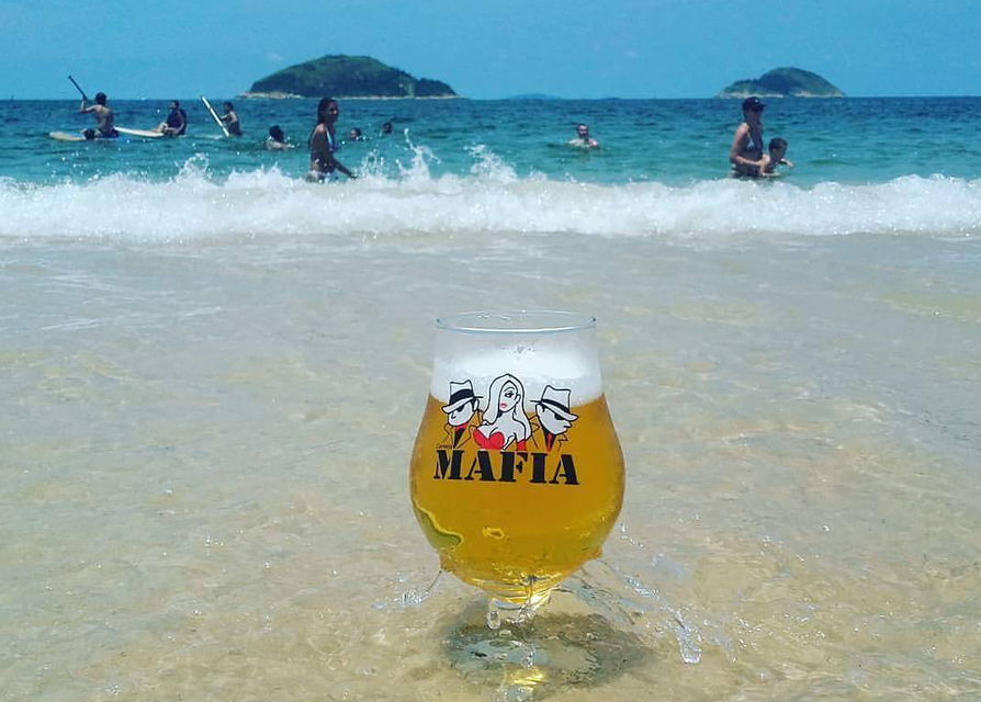 mafia beer in the waves