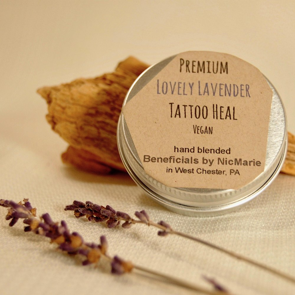 Premium Lovely Lavender Tattoo Heal