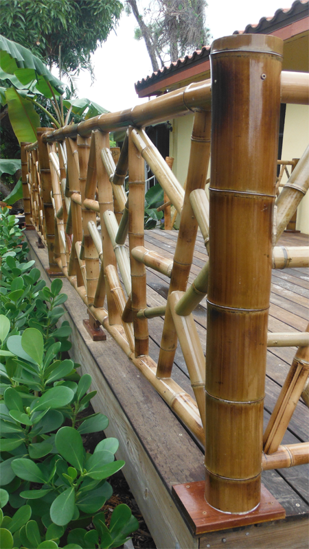 | Outdoor Visions | Bamboo Porch Railing |