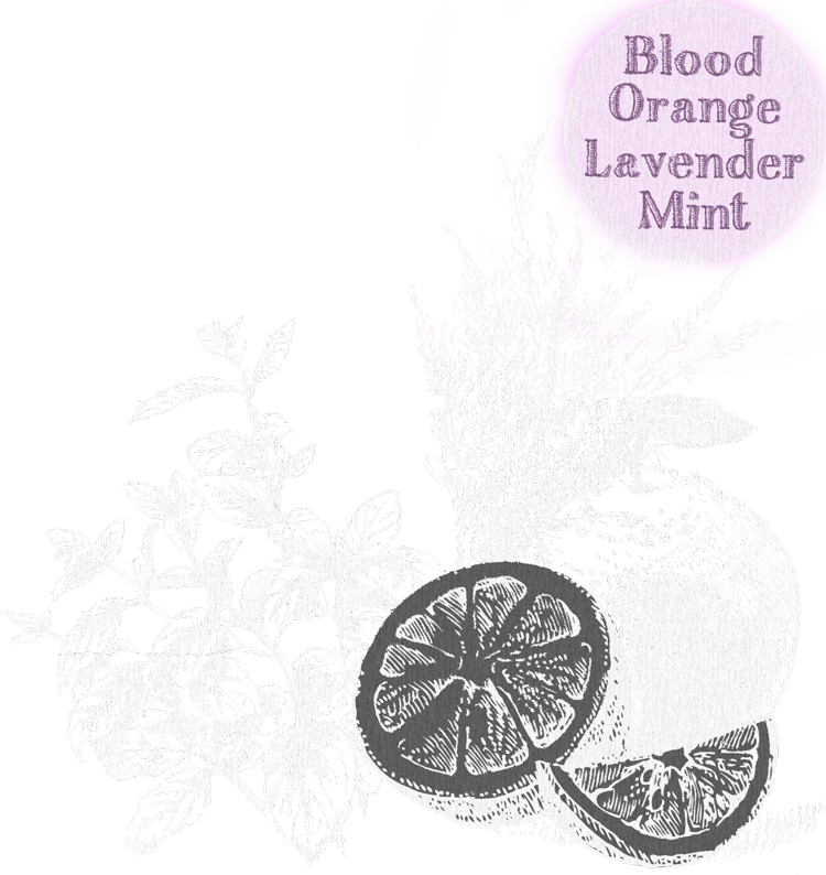 blood orange lavender mint tummydrops