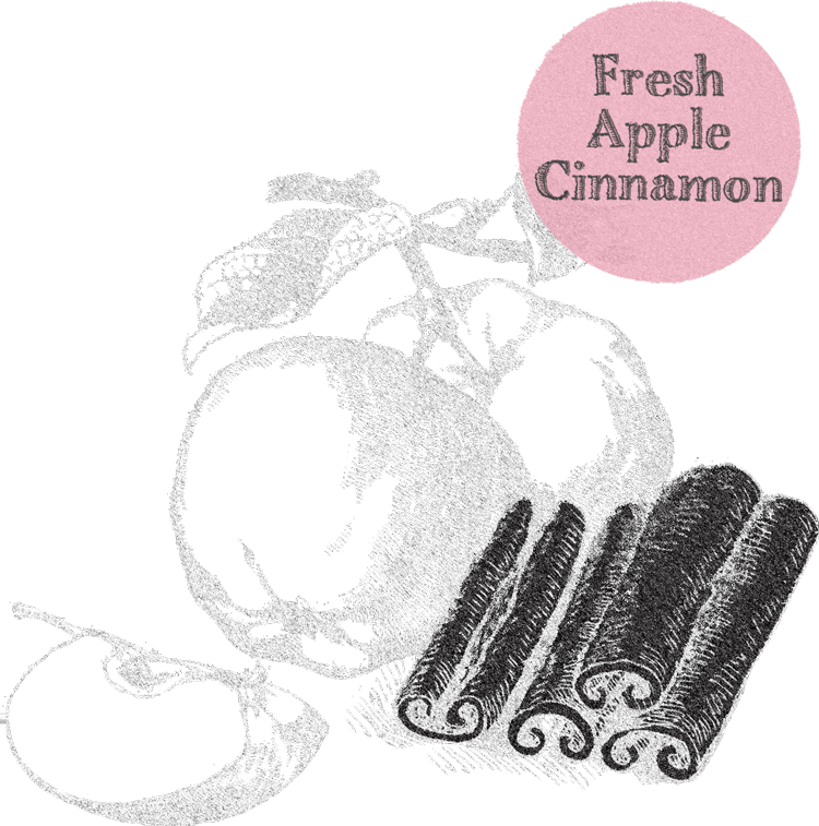 fresh apple cinnamon tummydrops
