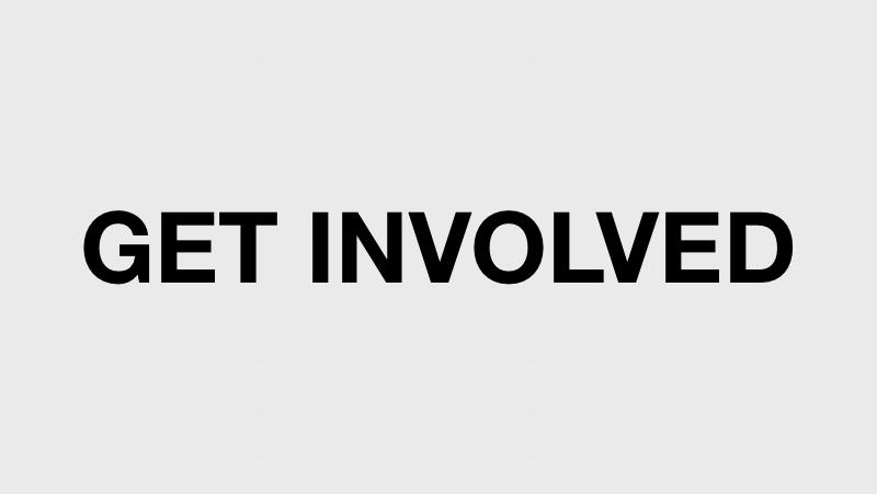 GET INVOLVED ./