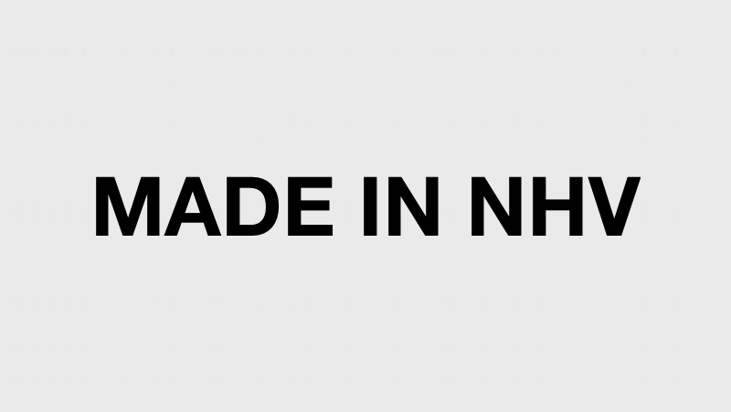 MADE IN NEW HAVEN ./