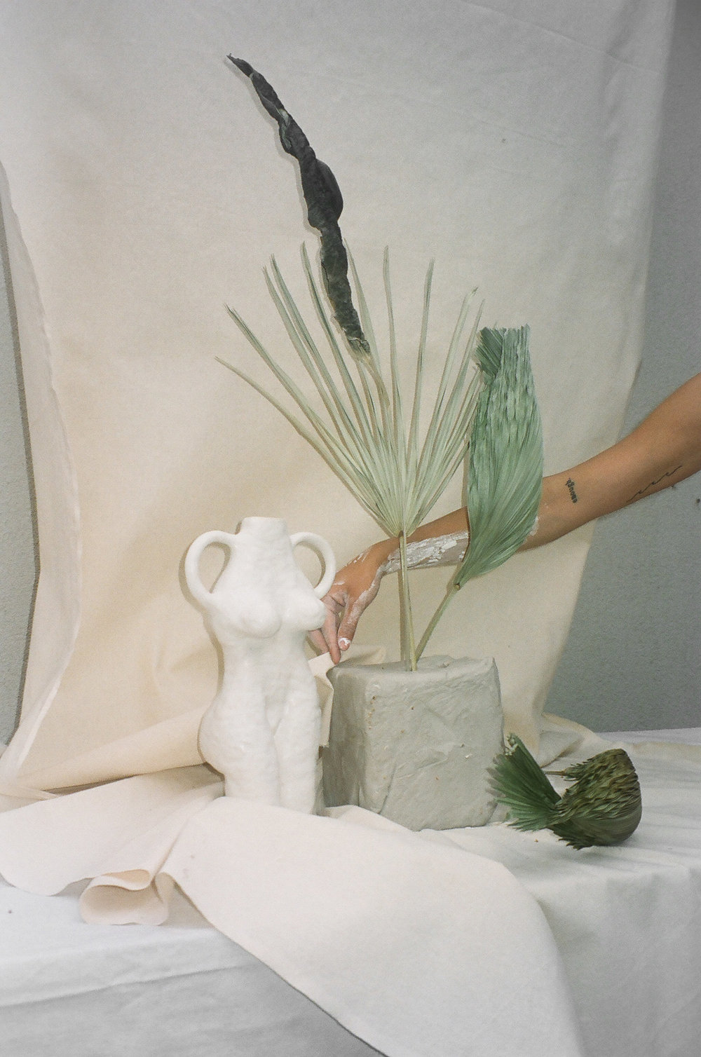 Film by Jenna Saraco, Styling, Floral and Vessel by Simone Bodmer-Turner