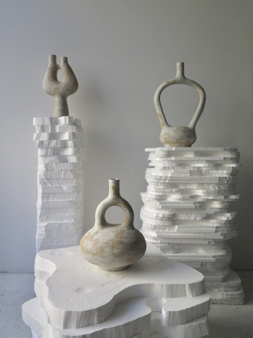 Trio of Vessels for 1000 Vases