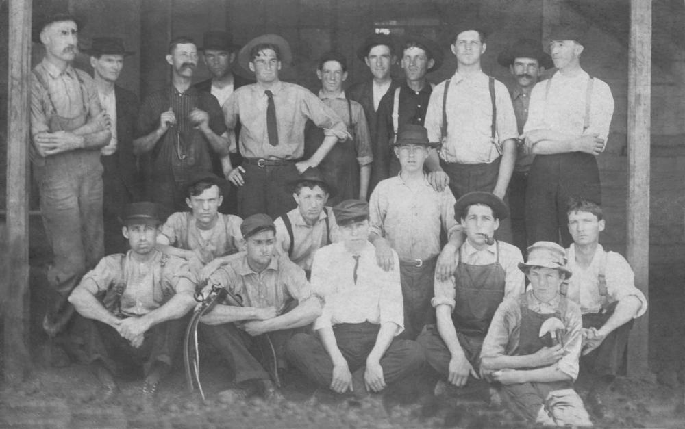 Harness Department, R.H. Allen b&w.jpg