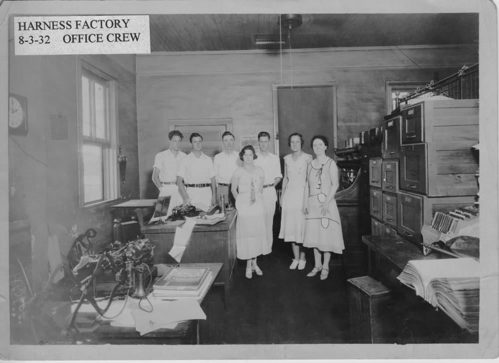 Harness Factory Office Workers b&w.jpg