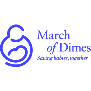 March of Dimes is an American health charity whose mission is to improve the health of babies by preventing birth defects, premature birth, and infant mortality.