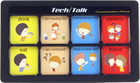 The Tech/Talk is our original 8 message communicator. Using Real-Voice technology, the Tech Series provides speech playback at a high audio quality. Time-Lock technology controls recording to enhance operations. The Series is user-friendly and easy-to-use, while also being durable and rugged. Made with a shatterproof high impact ABS injection molded case, they are designed to be drop resistant. The water resistant membrane panel operates with a light-touch. The series is light-weight and portable and all units can be easily mounted.