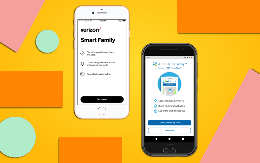 Verizon & AT&T - Parental Controls App