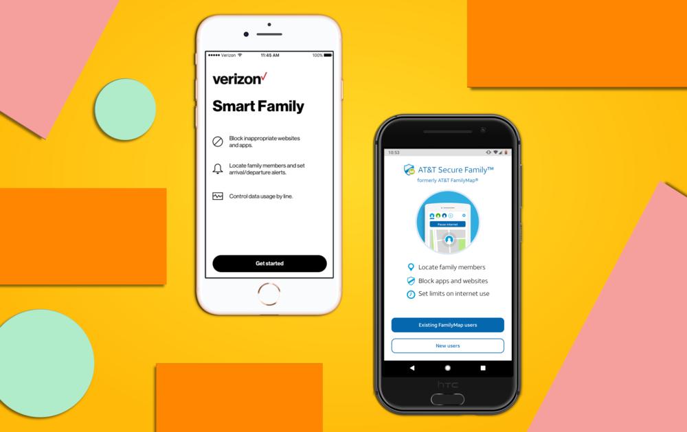 Verizon & AT&T - Parental Controls App