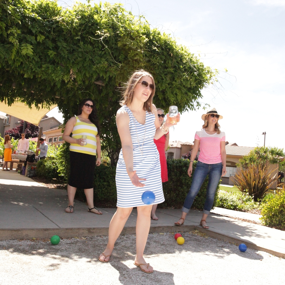 SUNDAY BOCCE BALL. - MAY 2015
