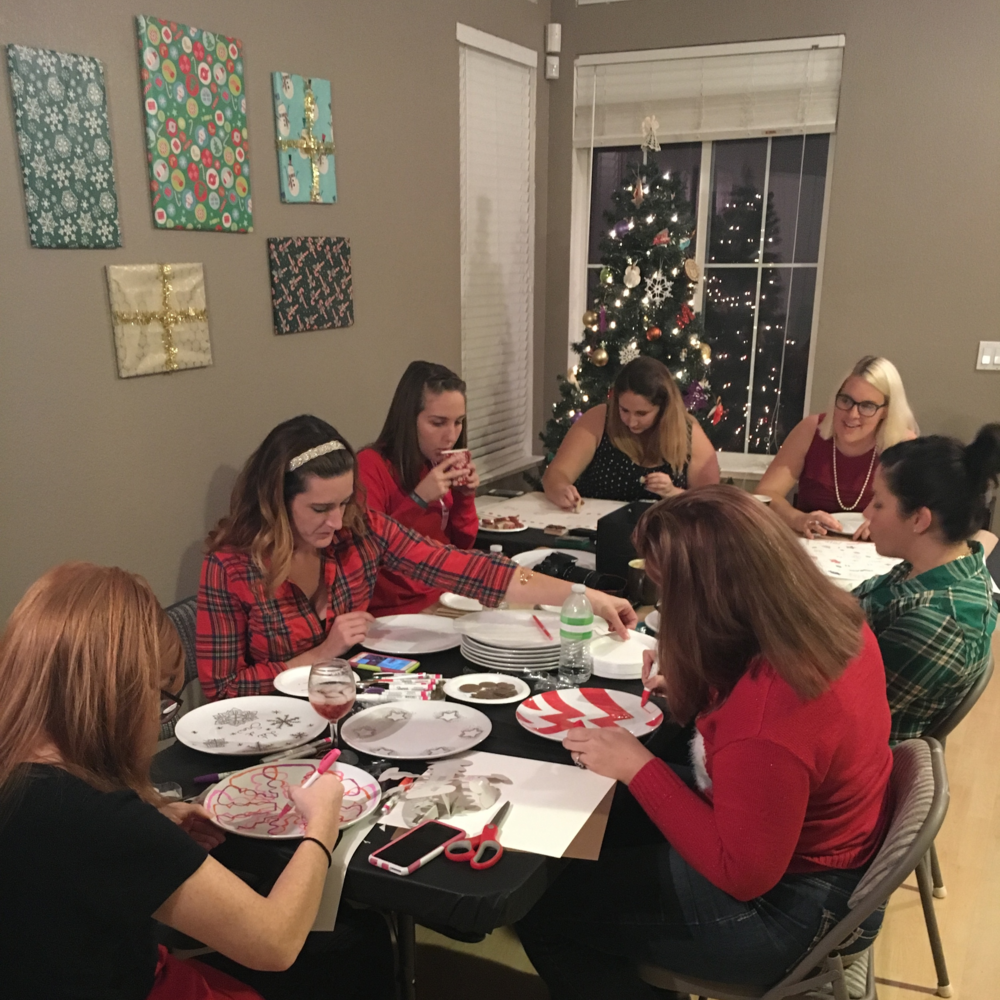 CHRISTMAS CRAFTS & COOKIES. - DEC. 2015